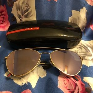 d25c8f923ee Prada Linea Rossa Accessories - SALE! 🔥 PRADA • Unisex Aviator Sunglasses  • NWT